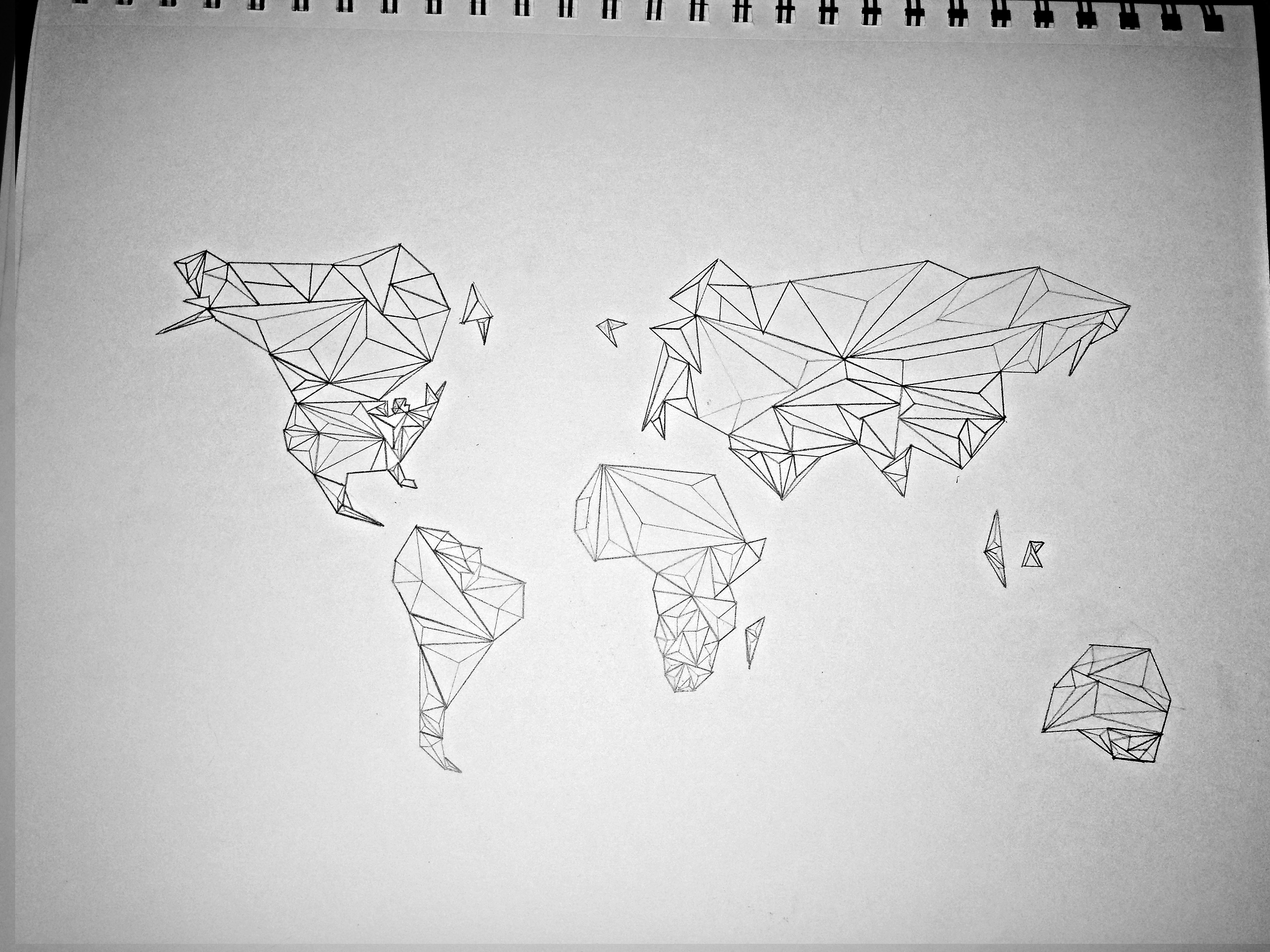 World map sketch the artist marie world map sketch gumiabroncs Images